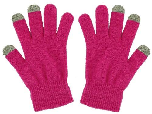 Pro-Tec Touchscreen Handschuhe Medium in Pink