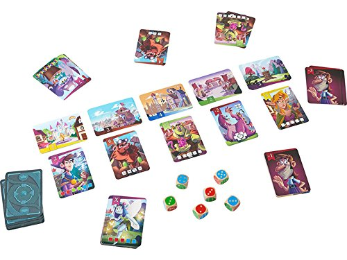 Image of HABA King of The Dice - A Tricky Skill and Luck Competition Game for Ages 8 Years and Up (Made in Germany)