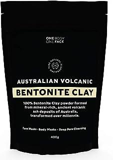 Australian Volcanic Bentonite Clay - 400grams Clay Powder - Detox Face Mask