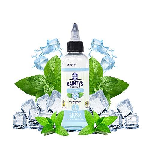 Daintys - Ice Mint - Eco Vape E-Liquid | 80ML | Sin Nicotina: 0MG | 50VG/50PG | E-Liquido para Cigarrillos Electronicos | Vaper | E Cigarette | E Shisha