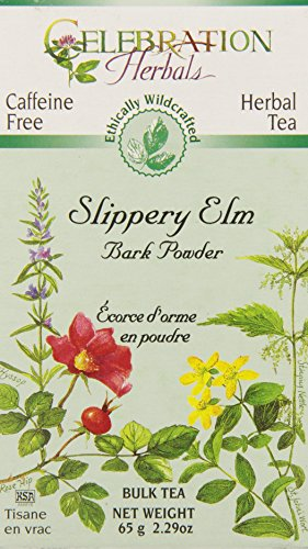 CELEBRATION HERBALS Slippery Elm Bark Pwd Wc 65 gm, 2.29 ounce