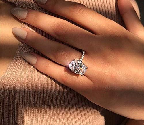 6 carat emerald cut diamond ring _image3