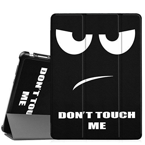 Fintie Huawei Mediapad M3 Lite 10 Hülle - Ultra Dünn Superleicht SlimShell Case Cover Schutzhülle Etui Tasche mit Zwei Einstellbarem Standfunktion für Huawei Mediapad M3 Lite 10 Zoll, Don't Touch