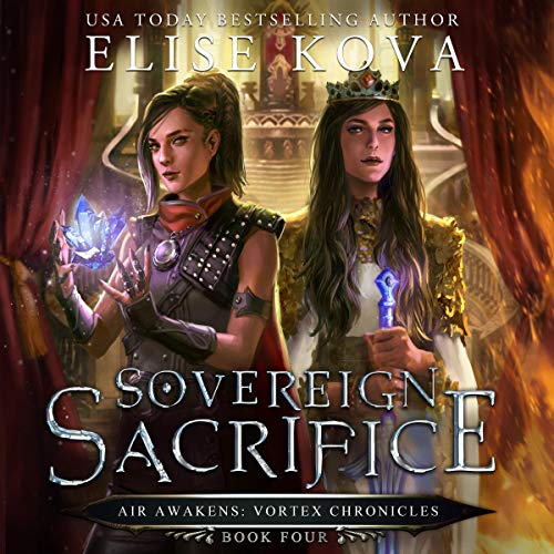 Sovereign Sacrifice audiobook cover art