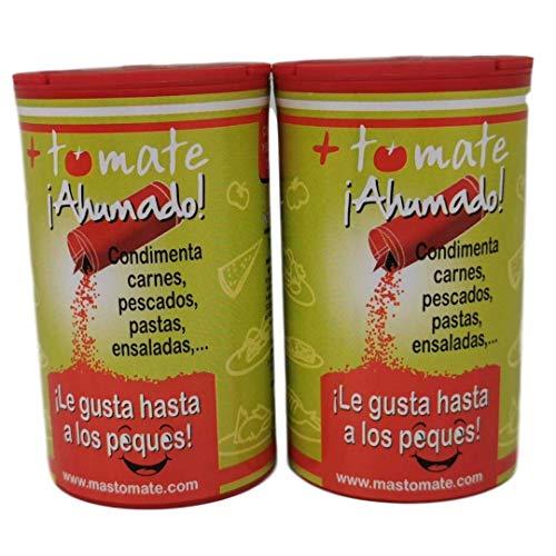 """Tomate Ahumado - El Nuevo Sazonador - """"Puro Sabor Ahumado"""" - Tomate de Extremadura - [ Pack 2 100 gr]"""