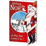Afie 61-4060-B JN Carte Joyeux Noël Porte-Billet