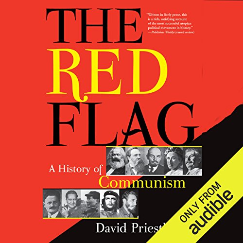 The Red Flag audiobook cover art