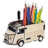 Werkhaus Citroën HY beige Pot à crayons - kit en bois éco certifié - 10 x 20 x 10 cm