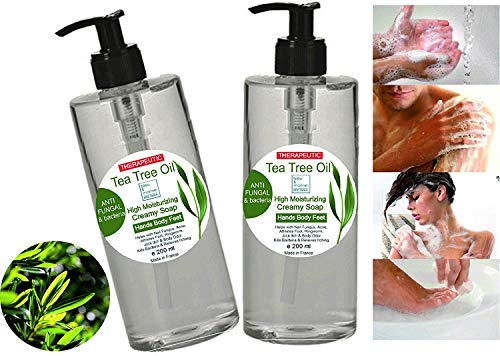 Gel desinfectante antibacteriano Jabón Pack Ahorro 2 x 200 ml Ultra Hidratante...