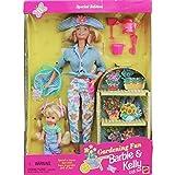 Gardening Fun BARBIE & KELLY Gift Set - Special Edition Set w 2 Dolls & Accessories (1996)