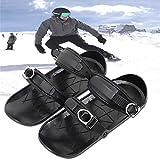 Mini Ski Skates für Snow Short Skiboard Snowblades, Erwachsene Skier Einstellbar Skifahren...