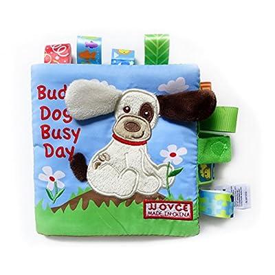 YeahiBaby Puzzle animaux tissu livre bébé jouets tissu début développement livres pour bébés