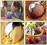 JR EXPORT Ice Cream Scooper - 1 Piece Easy Handheld Stainless Steel