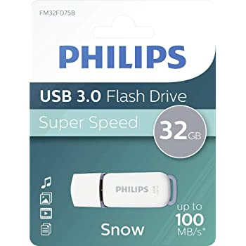 Philips SNOW Super Speed 32 GB USB Flash Drivee 3.0, Leer hasta 100 MB/s: Amazon.es: Informática