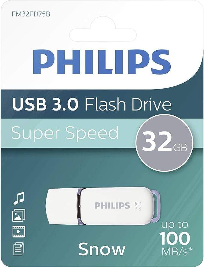 Philips Snow Super Speed 32 Gb Usb Flash Drivee 3 0 Computer Zubehör