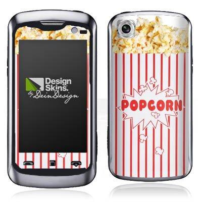 LG KM570 Arena II Aufkleber Schutz Folie Design Sticker Skin Popcorn Kino Design