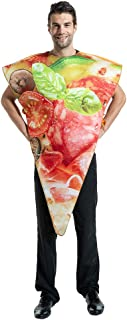 EraSpooky Adult Pizza Slice Costume Party Funny Food Fancy Dress Unisex OneSize