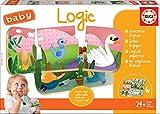 Educa- Baby Logic Juego Educativo para Bebés, Multicolor (18120)