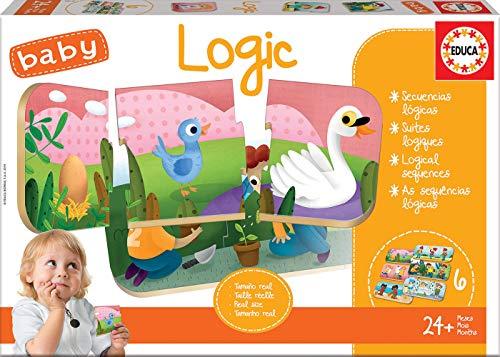 Educa Borrás Baby, Juego educativo para bebés, aprende a o