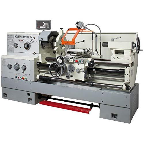 Elmag - INDUSTRIE 2000/250 HD - Universal-Drehmaschine 400 V