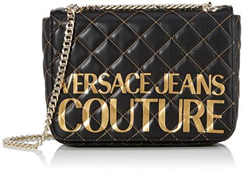 Versace Jeans Couture Damen Bag Umhängetasche, Schwarz (Nero), 7x16x24.5 centimeters