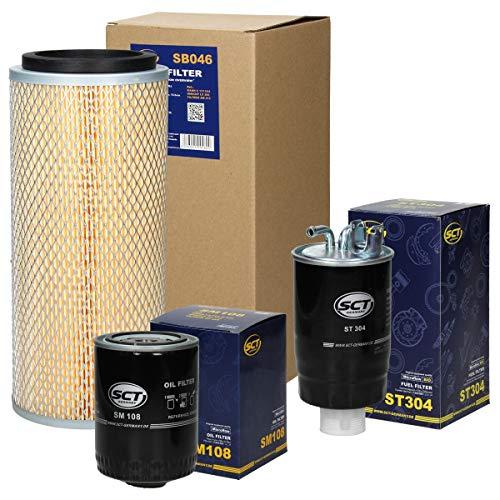 Inspektionspaket Wartungspaket Filterset 1 x Ölfilter 1 x Luftfilter 1 x Kraftstofffilter/Dieselfilter