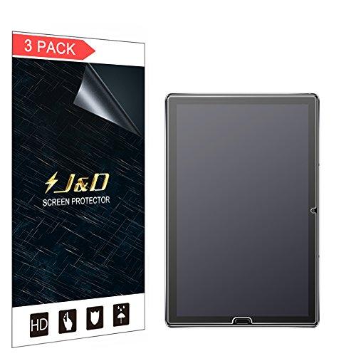 JundD Kompatibel für 3er Packung Huawei MediaPad M5 10.8 inch Bildschirmschutzfolie, [Antireflektierend] [Anti Fingerabdruck] Matte Folie Schutzschild Bildschirmschutzfolie für Huawei MediaPad M5 10.8 inch