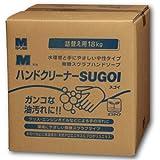 ミドリ 洗浄力アップ Mハンドクリーナー SUGOI 18kg BIB容器 コック付 1個