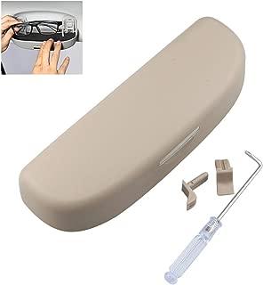 para Todos los Modelos de Coche Soporte para Gafas de Coche con Clip para Parasol Adminitto88 Multifuncional
