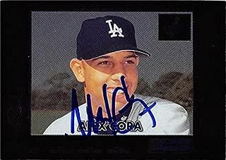 Autograph 190673 Los Angeles Dodgers Ft 2000 Bowman Chrome No. 436 Alex Cora Autographed Baseball Card