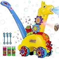 Polardor Push Bubble Machine with Light & Music