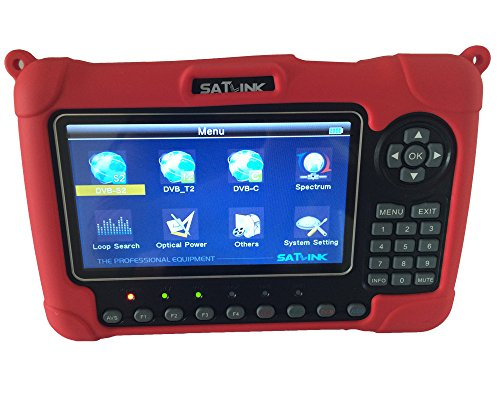 SATLINK WS-6980 DVB-S2/C/T2 Combo Optical Power Detection Constellation Analyzer/ Spectrum Analyzer Digital...
