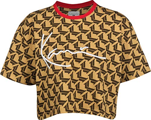 Karl Kani Signature W T-Shirt Camel/Brown/Red