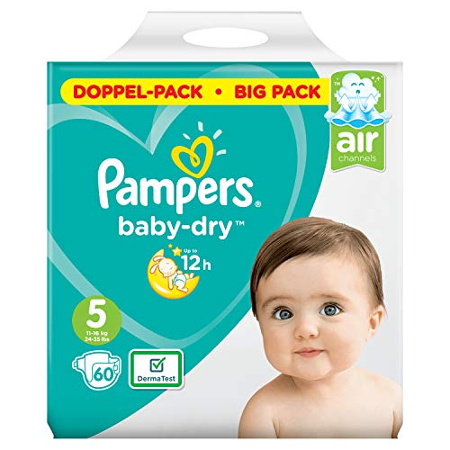 Pampers Baby-Dry Größe5, 60Windeln