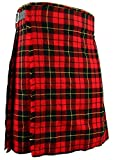 Scottish Traditional Kilt Wallace Tartan W38 Red