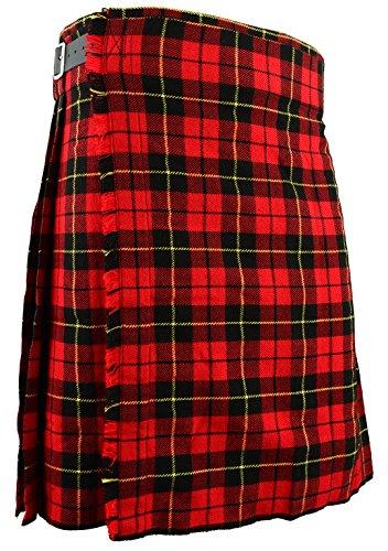 Falda Escocesa Vestido Tierras Altas Tradicional Hombres Kilt - Wallace, W36