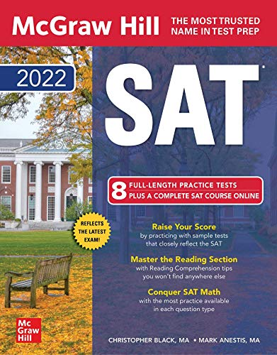McGraw-Hill Education SAT 2022 (Mcgraw-Hill Education SAT (Book only))