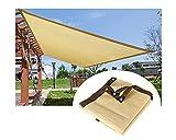 Yeanee Malla Sombreo Toldos Exterior Beige Red de Sombra 90%,Jardín Protección de Privacidad HDPE 210 g/m²,para Invernadero Balcones y Terrazas,2x3m 3x5m 4x6m 5x6m 6x7m 7x7m 8x10m 10x20m 12x20m