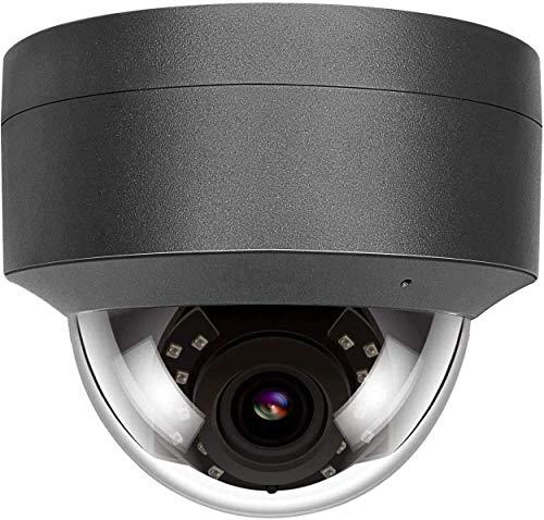 Anpviz 5MP HD POE IP Camera Outdoor, IP Telecamera di sicurezza interno Impermeabile, Telecamera di visione notturna IR Rilevazione movimento Onvif Audio (microfono)