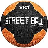 VICI Street Soccer Ball - Size Black/Orange, 5