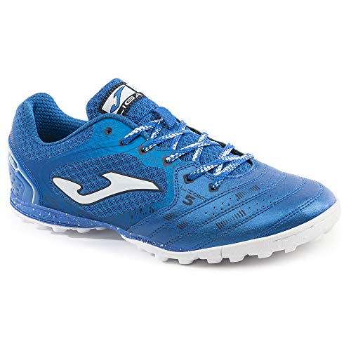 Joma Herren Liga 5 Turf Sneaker, Königsweiß, Blau (königsblau), 45.5 EU