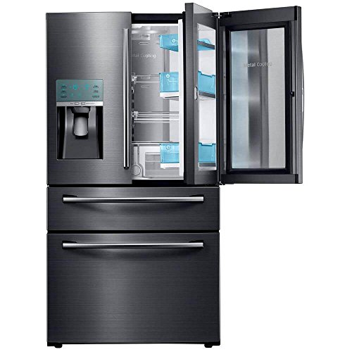 "Samsung Appliance RF28JBEDBSG 36"" Energy Star Rated Food Showcase French Door Refrigerator in Black Stainless Steel"