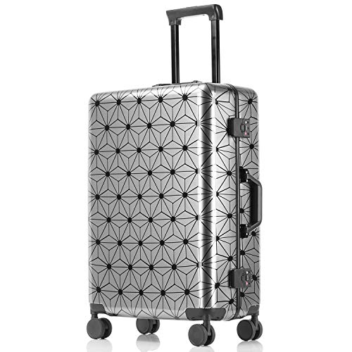 kroeus(クロース)旅行用スーツケース キャリーバッグ ABS+PC素材 静音 3段階調節キャリーバー 安心1年間保証 TSAロック付き 海外旅行 4サイズ 20