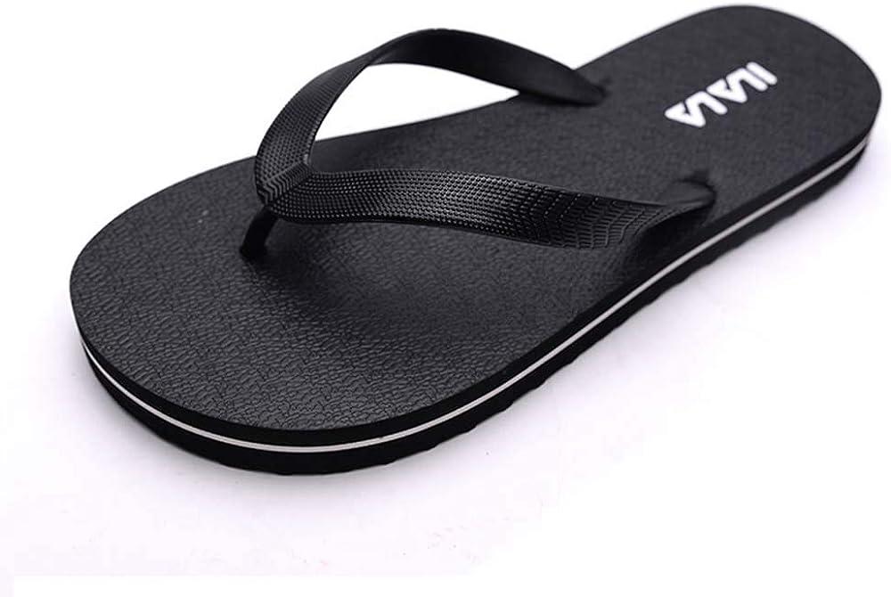 Mens Thong Sandals Comfortable Flip Flop Outdoor Beach Flip Flop Athletic Slide Sandals Yoga Foam Slippers
