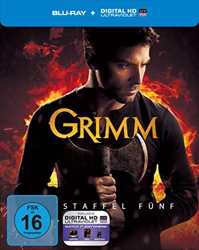 Grimm - Staffel 5 - Limitiertes Steelbook [Blu-ray]