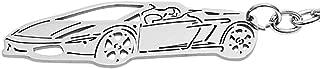 HaoYouMi Stainless Steel Automotive Body Styling 3D Custom Keychain for Lamborghini Gallardo, Huracán, Aventador, Centenario Models