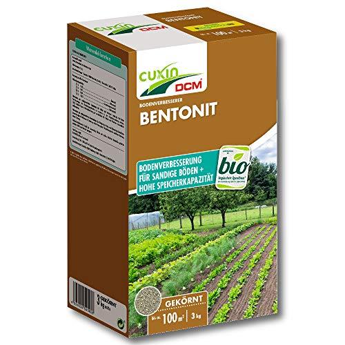 Cuxin Bentonit Urgesteinsmehl 3 kg Bodenverbesserer Kompostbeschleuniger Garten