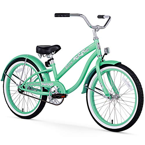Firmstrong Bella Classic Girl's Single Speed Cruiser Bicycle, 20-Inch,...