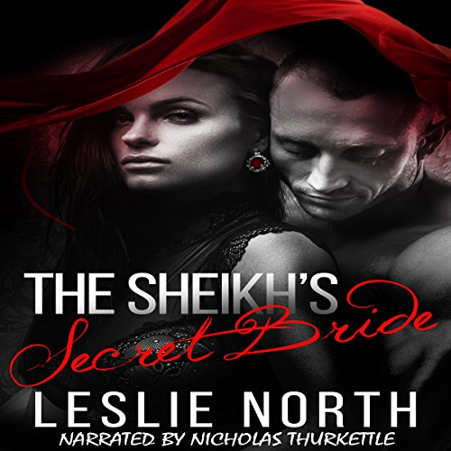 The Sheikh's Secret Bride audiobook cover art