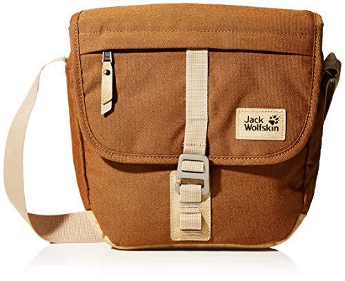 Jack Wolfskin Unisex-Erwachsene Warwick Ave sac à bandoulière Umhängetasche, Braun (desert brown), One Size